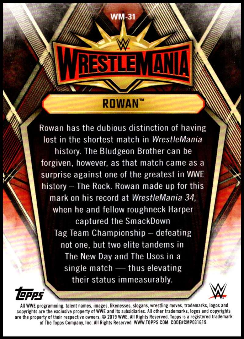 2019-Topps-Road-to-WrestleMania-Roster-Cards-WWE-You-Pick-Complete-Your-Set thumbnail 61