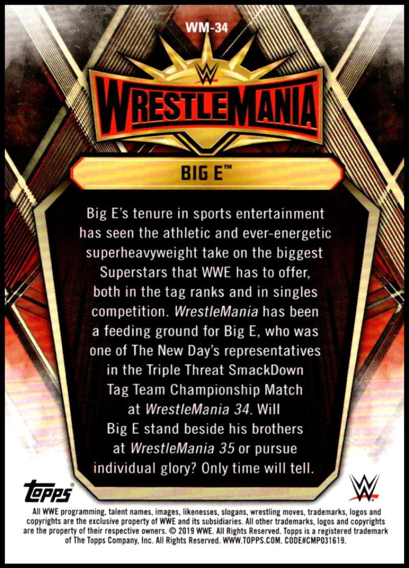 2019-Topps-Road-to-WrestleMania-Roster-Cards-WWE-You-Pick-Complete-Your-Set thumbnail 67