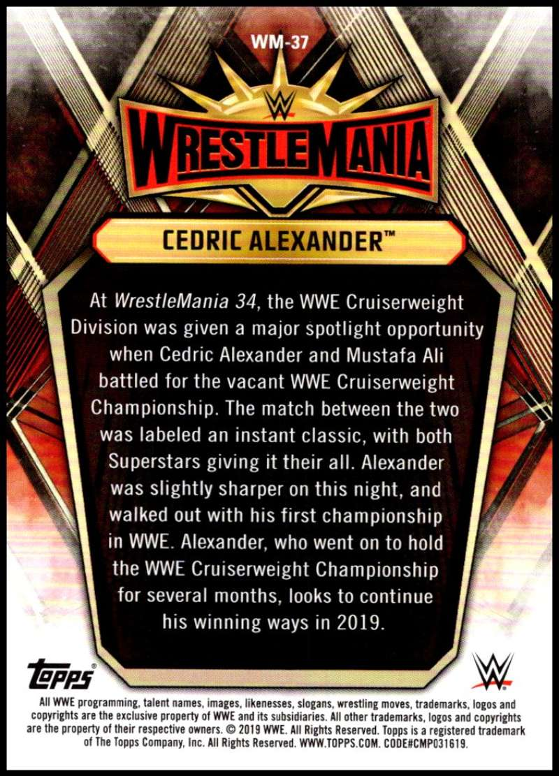 2019-Topps-Road-to-WrestleMania-Roster-Cards-WWE-You-Pick-Complete-Your-Set thumbnail 73
