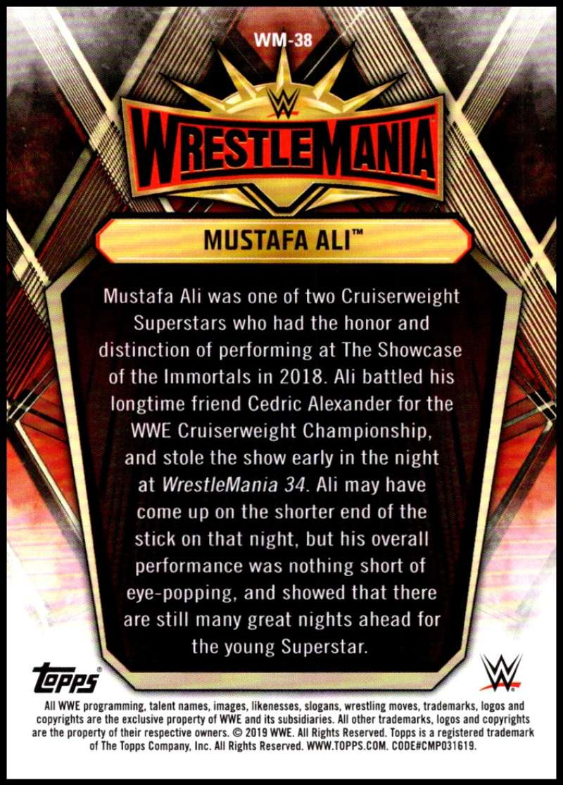 2019-Topps-Road-to-WrestleMania-Roster-Cards-WWE-You-Pick-Complete-Your-Set thumbnail 75