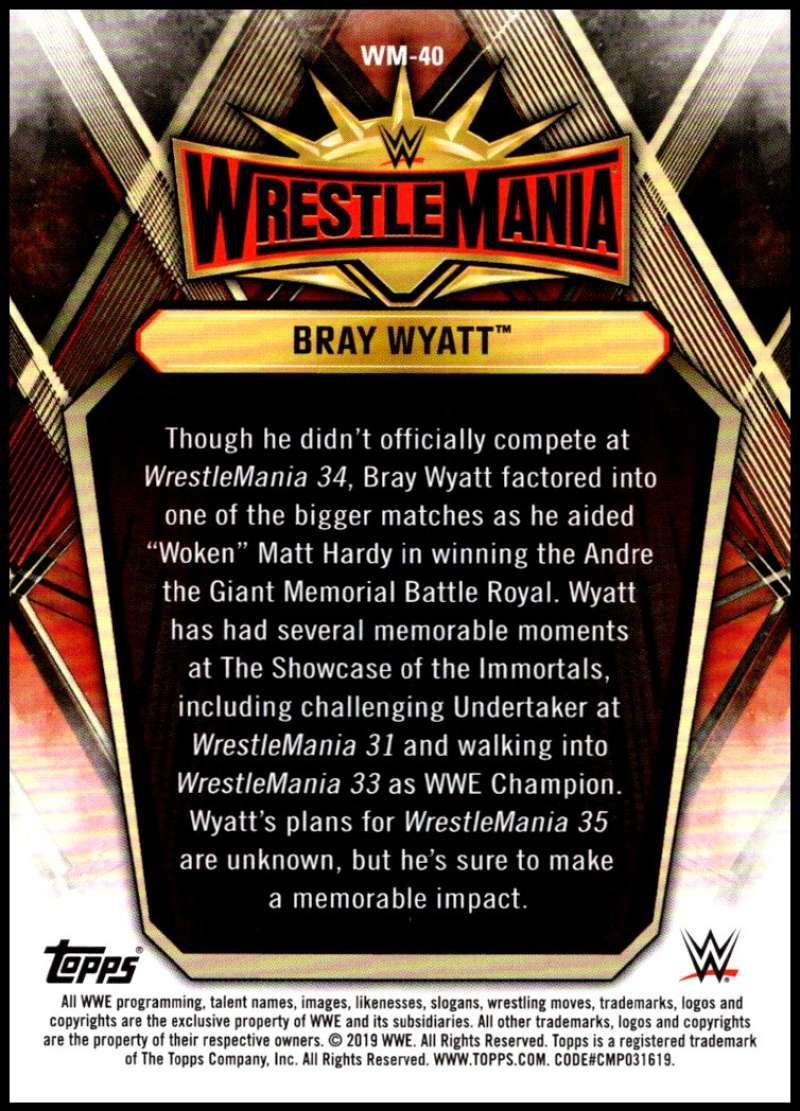 2019-Topps-Road-to-WrestleMania-Roster-Cards-WWE-You-Pick-Complete-Your-Set thumbnail 79