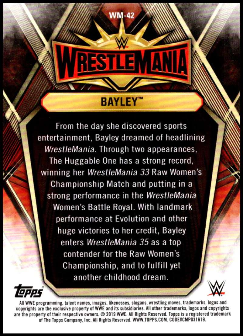 2019-Topps-Road-to-WrestleMania-Roster-Cards-WWE-You-Pick-Complete-Your-Set thumbnail 83