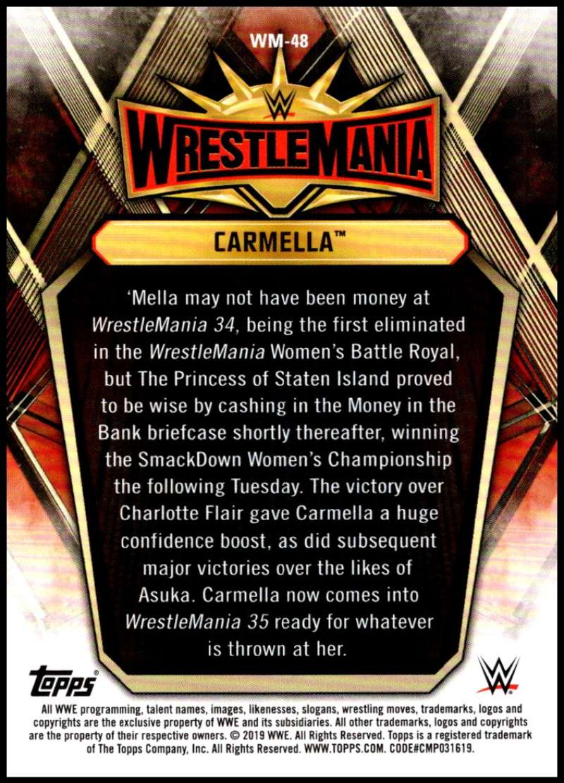 2019-Topps-Road-to-WrestleMania-Roster-Cards-WWE-You-Pick-Complete-Your-Set thumbnail 93