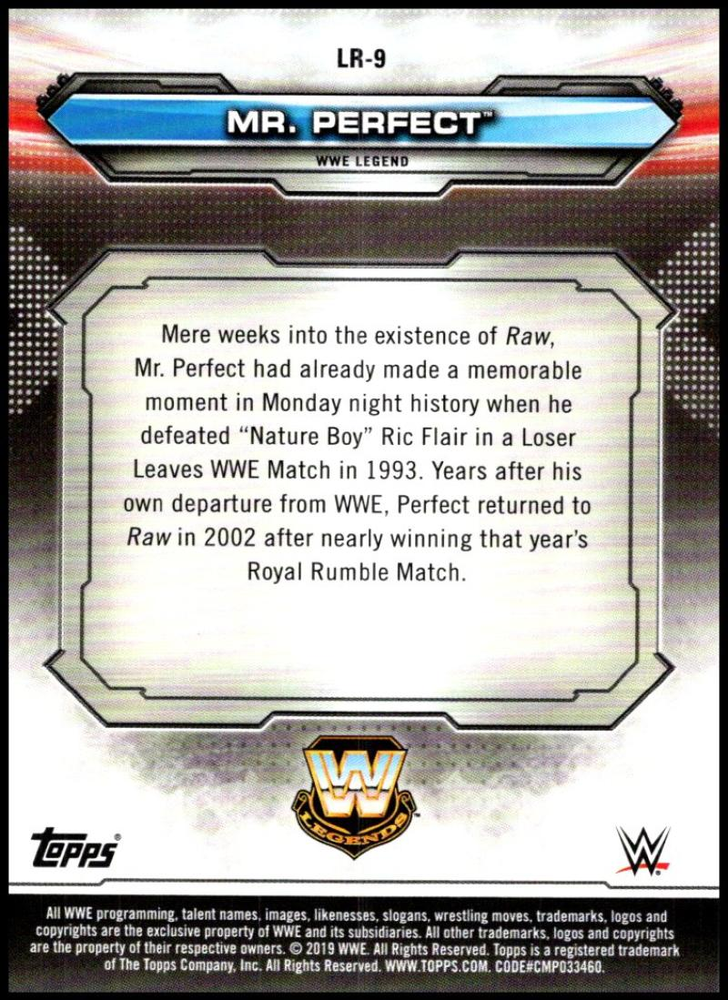 2019-Topps-WWE-Raw-Wrestling-Insert-Singles-Pick-Your-Cards thumbnail 113