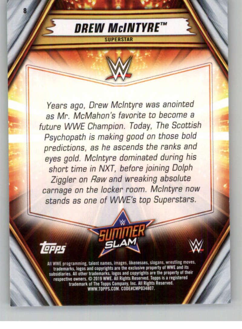 2019-WWE-Topps-SummerSlam-Parallels-Logo-Mat-Shirt-Relics-Pick-Your-Cards-Lot thumbnail 13
