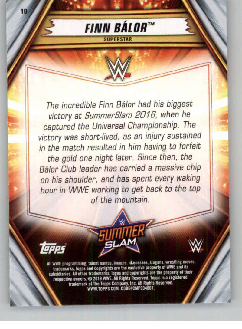 2019-WWE-Topps-SummerSlam-Parallels-Logo-Mat-Shirt-Relics-Pick-Your-Cards-Lot thumbnail 15