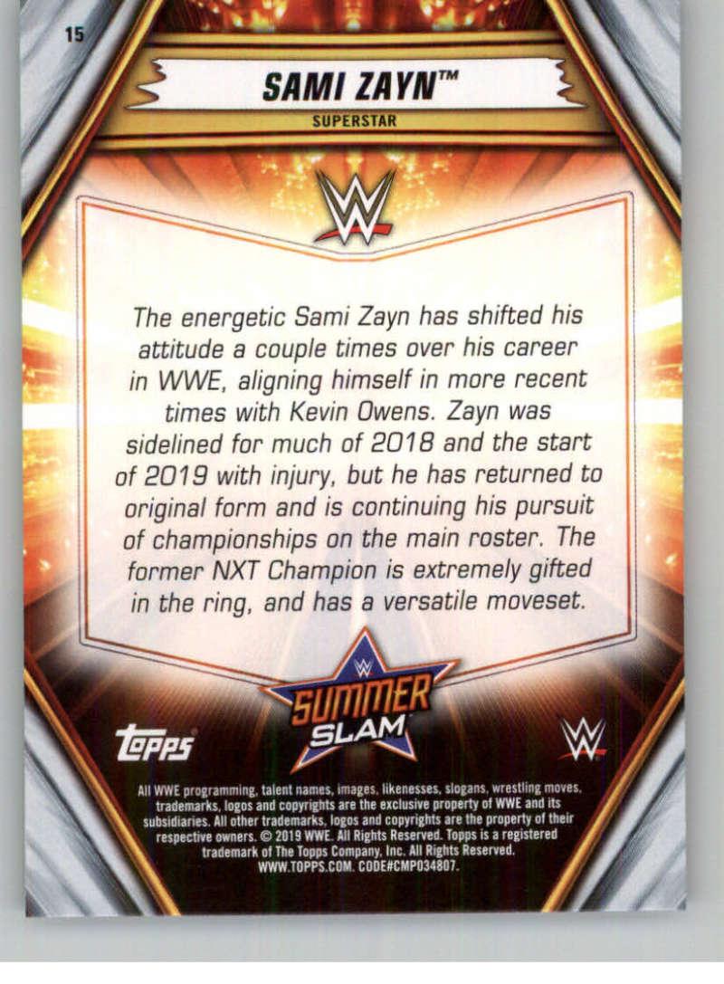 2019-WWE-Topps-SummerSlam-Parallels-Logo-Mat-Shirt-Relics-Pick-Your-Cards-Lot thumbnail 21
