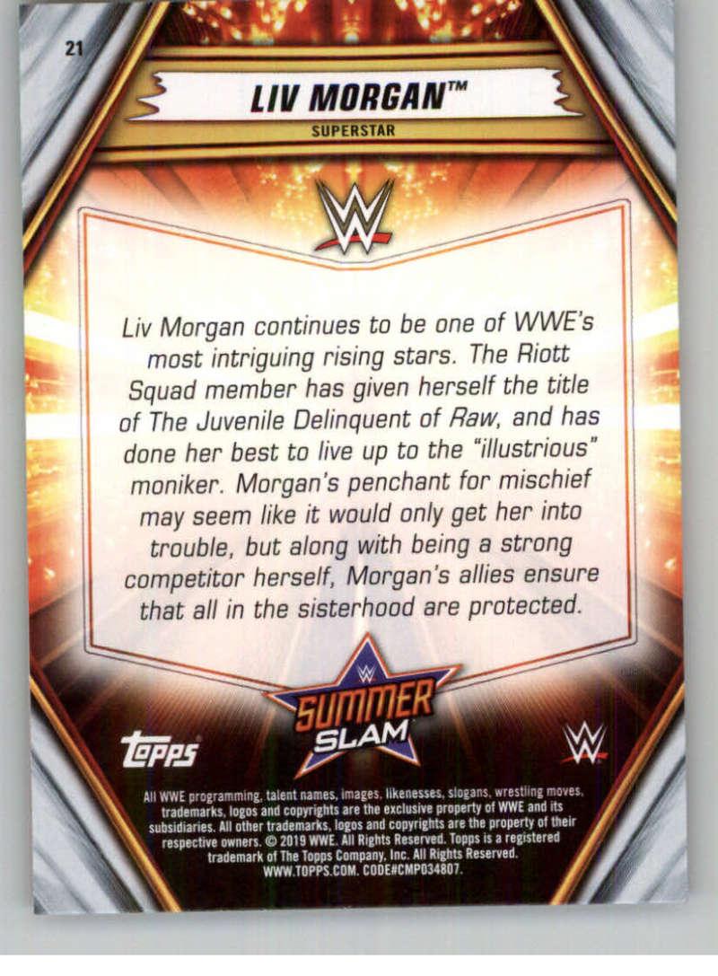 2019-WWE-Topps-SummerSlam-Parallels-Logo-Mat-Shirt-Relics-Pick-Your-Cards-Lot thumbnail 25