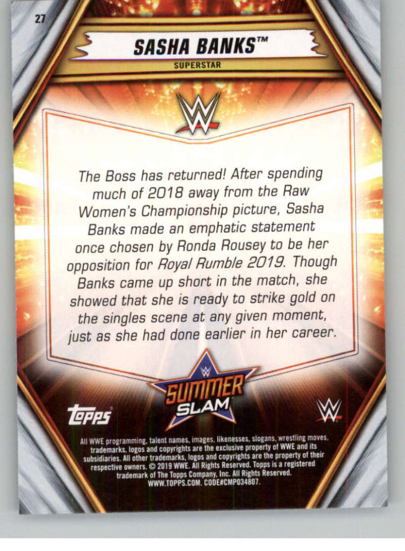2019-WWE-Topps-SummerSlam-Parallels-Logo-Mat-Shirt-Relics-Pick-Your-Cards-Lot thumbnail 33