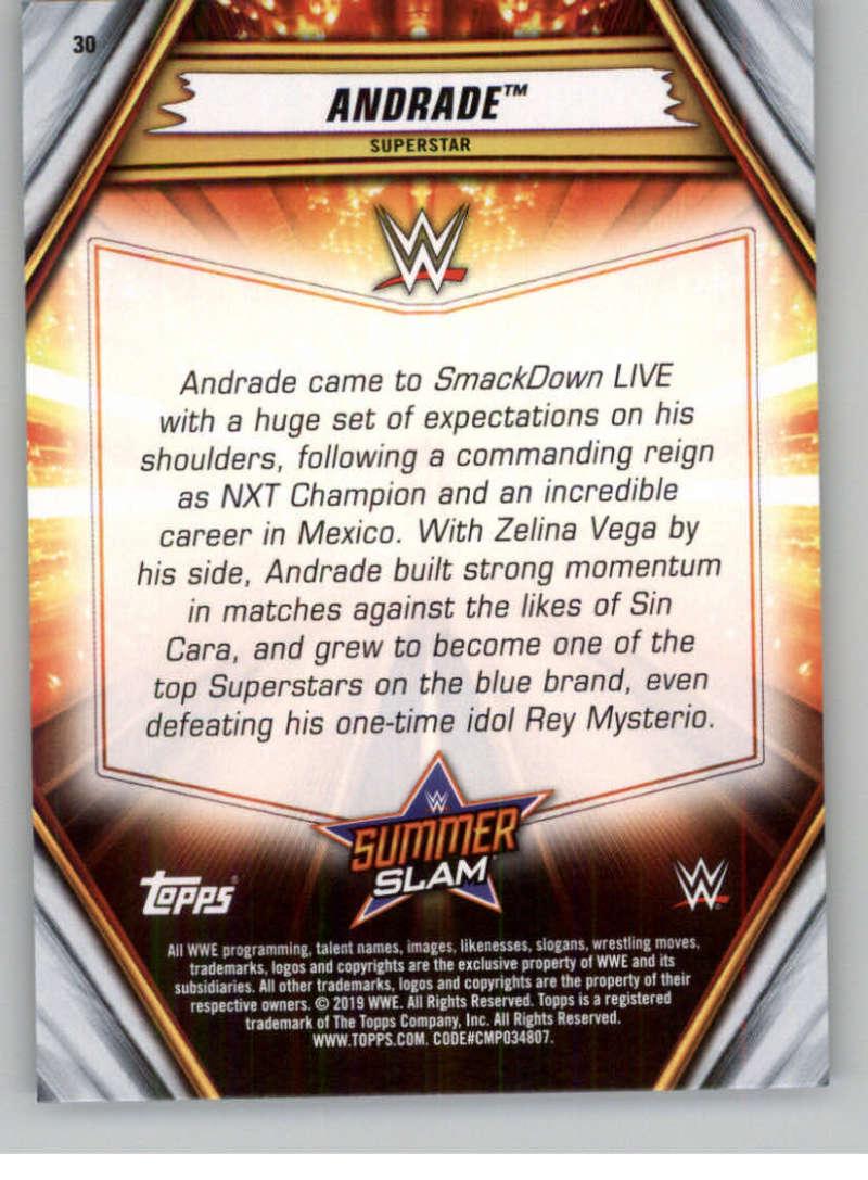 2019-WWE-Topps-SummerSlam-Parallels-Logo-Mat-Shirt-Relics-Pick-Your-Cards-Lot thumbnail 39