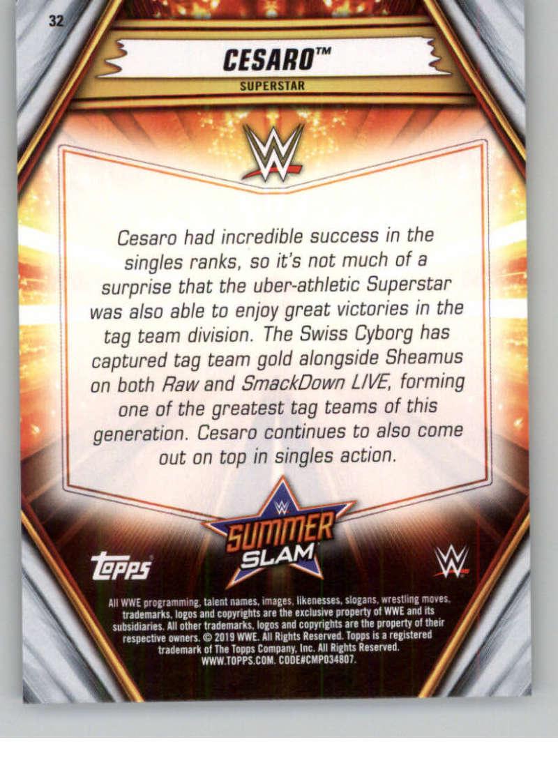 2019-WWE-Topps-SummerSlam-Parallels-Logo-Mat-Shirt-Relics-Pick-Your-Cards-Lot thumbnail 41