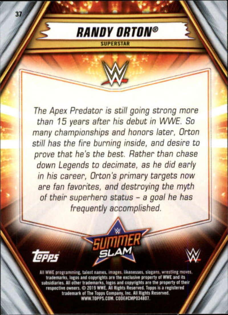 2019-WWE-Topps-SummerSlam-Parallels-Logo-Mat-Shirt-Relics-Pick-Your-Cards-Lot thumbnail 47