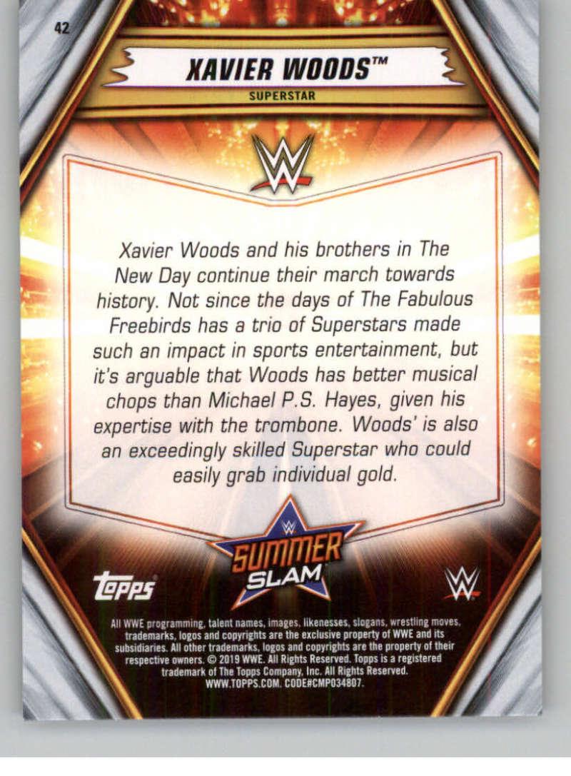 2019-WWE-Topps-SummerSlam-Parallels-Logo-Mat-Shirt-Relics-Pick-Your-Cards-Lot thumbnail 55