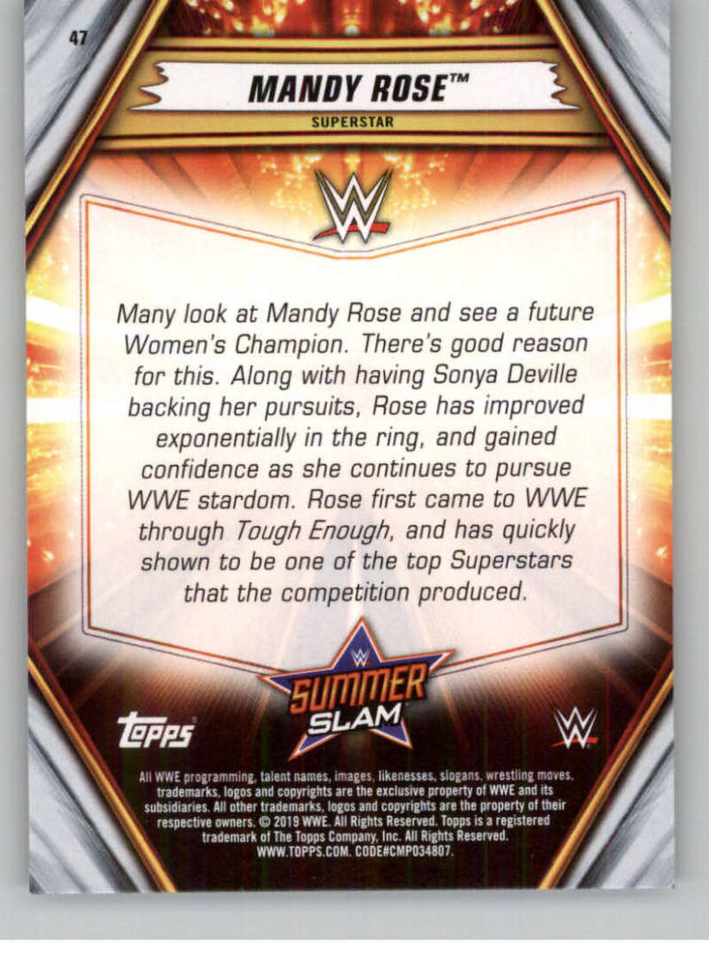 2019-WWE-Topps-SummerSlam-Parallels-Logo-Mat-Shirt-Relics-Pick-Your-Cards-Lot thumbnail 61