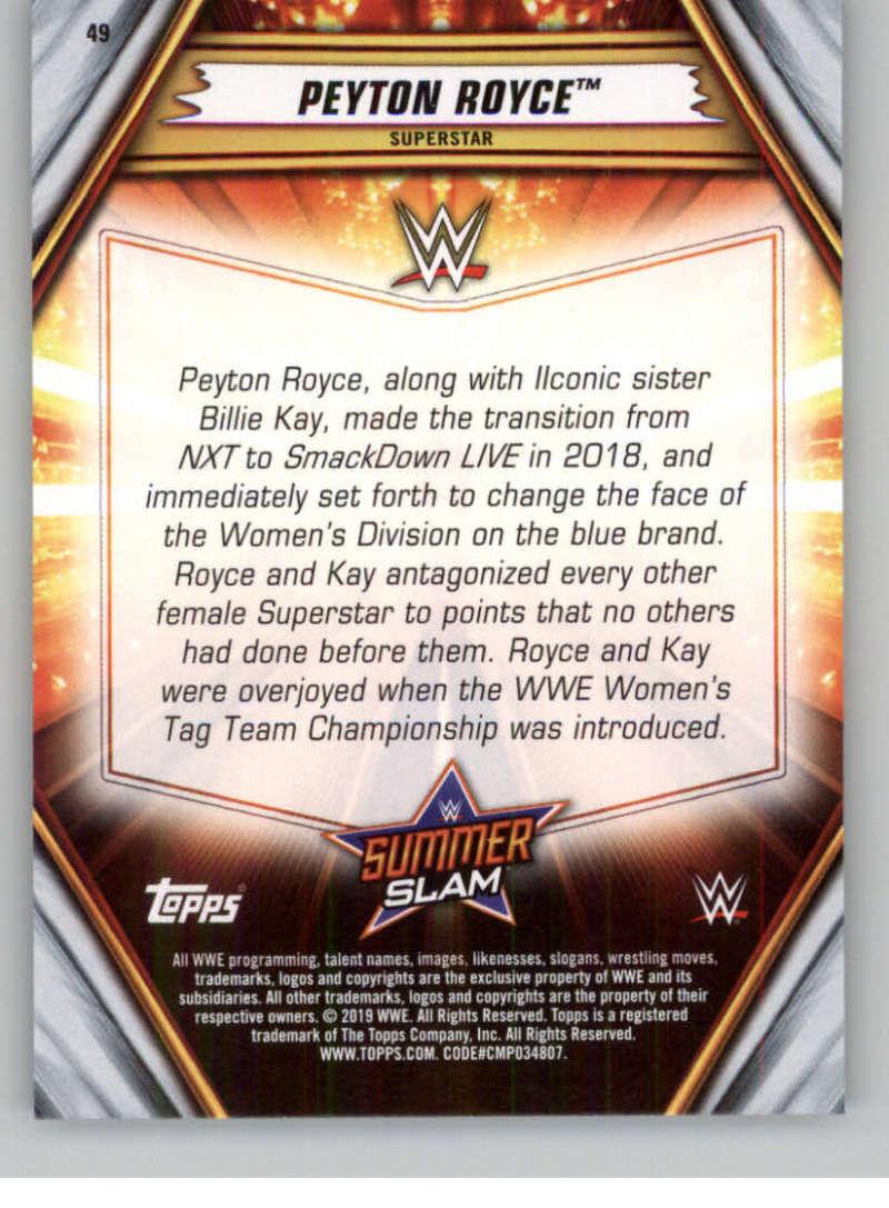 2019-WWE-Topps-SummerSlam-Parallels-Logo-Mat-Shirt-Relics-Pick-Your-Cards-Lot thumbnail 65