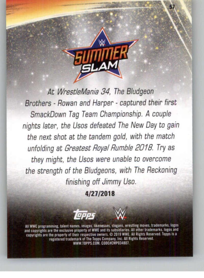 2019-WWE-Topps-SummerSlam-Parallels-Logo-Mat-Shirt-Relics-Pick-Your-Cards-Lot thumbnail 79