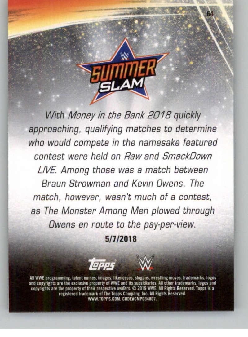 2019-WWE-Topps-SummerSlam-Parallels-Logo-Mat-Shirt-Relics-Pick-Your-Cards-Lot thumbnail 87