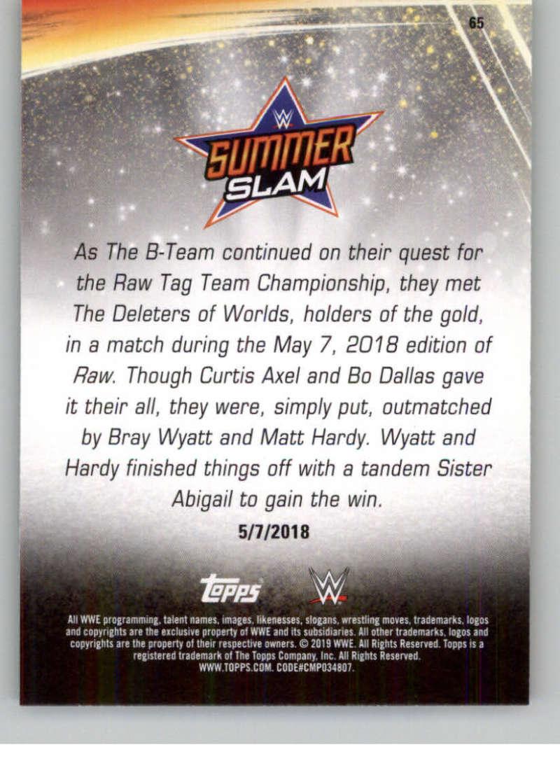 2019-WWE-Topps-SummerSlam-Parallels-Logo-Mat-Shirt-Relics-Pick-Your-Cards-Lot thumbnail 89