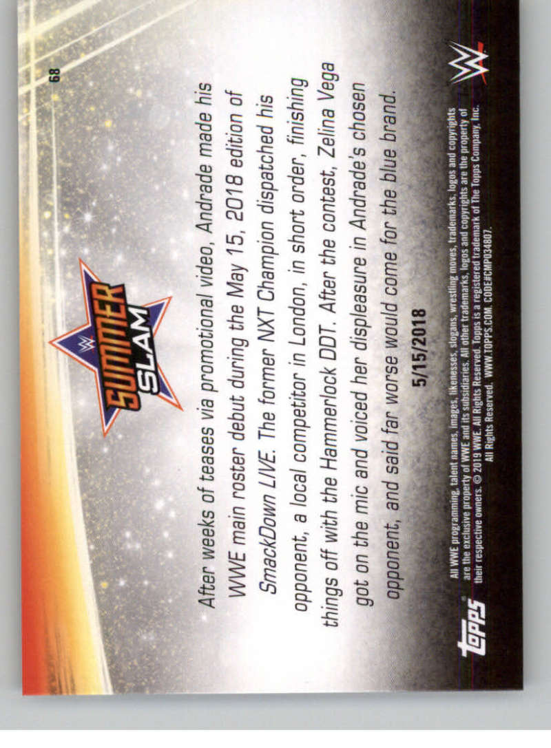 2019-WWE-Topps-SummerSlam-Parallels-Logo-Mat-Shirt-Relics-Pick-Your-Cards-Lot thumbnail 95