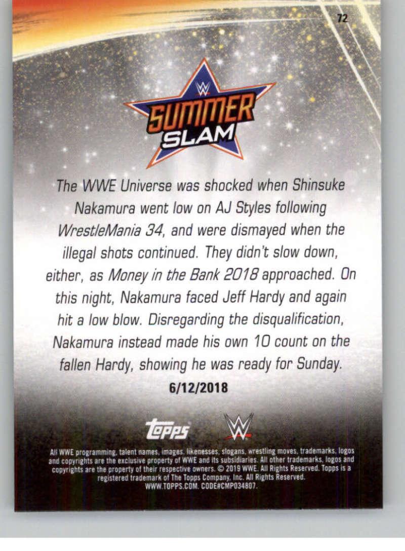 2019-WWE-Topps-SummerSlam-Parallels-Logo-Mat-Shirt-Relics-Pick-Your-Cards-Lot thumbnail 101