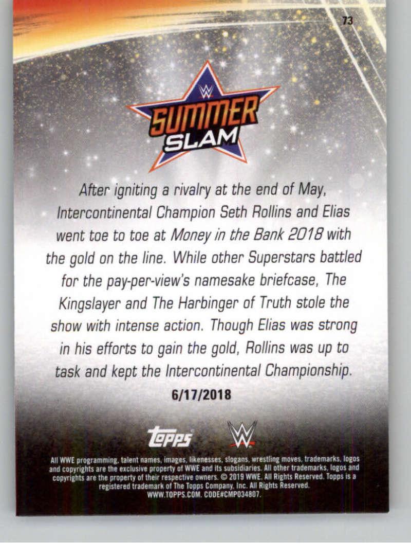 2019-WWE-Topps-SummerSlam-Parallels-Logo-Mat-Shirt-Relics-Pick-Your-Cards-Lot thumbnail 103