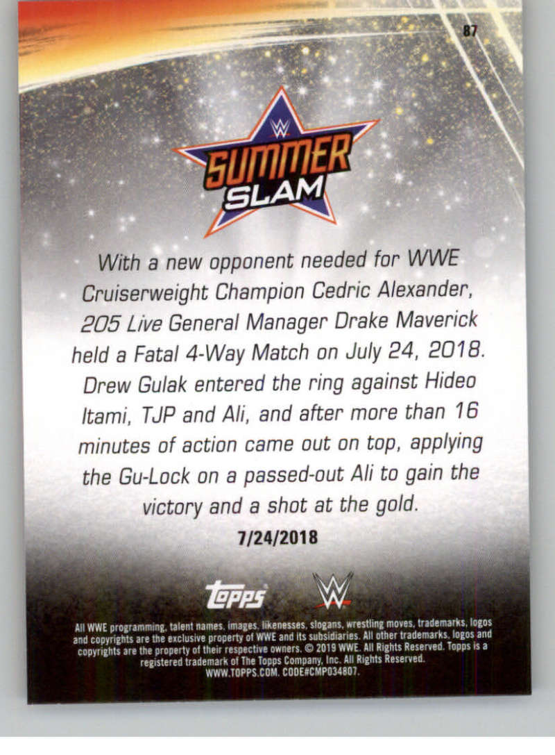 2019-WWE-Topps-SummerSlam-Parallels-Logo-Mat-Shirt-Relics-Pick-Your-Cards-Lot thumbnail 121