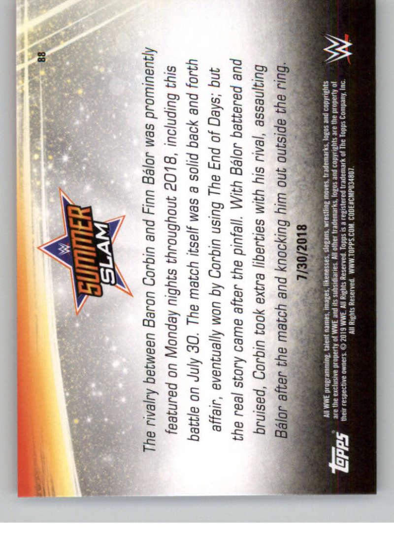 2019-WWE-Topps-SummerSlam-Parallels-Logo-Mat-Shirt-Relics-Pick-Your-Cards-Lot thumbnail 123