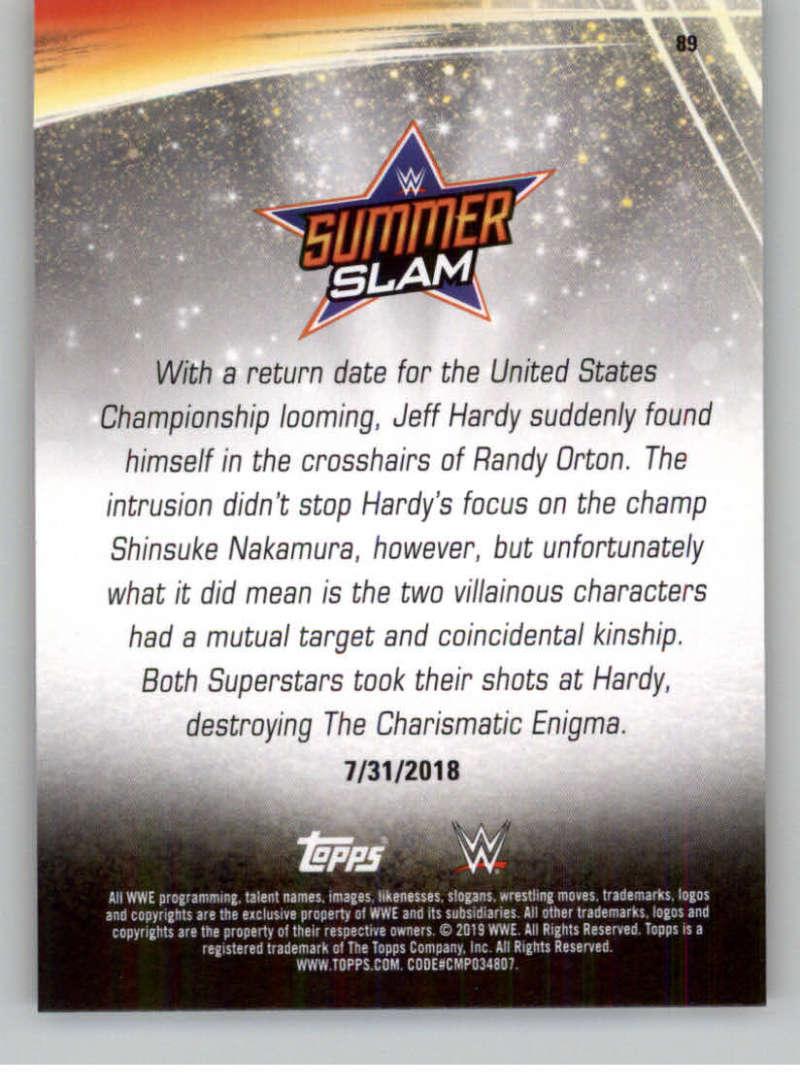 2019-WWE-Topps-SummerSlam-Parallels-Logo-Mat-Shirt-Relics-Pick-Your-Cards-Lot thumbnail 125