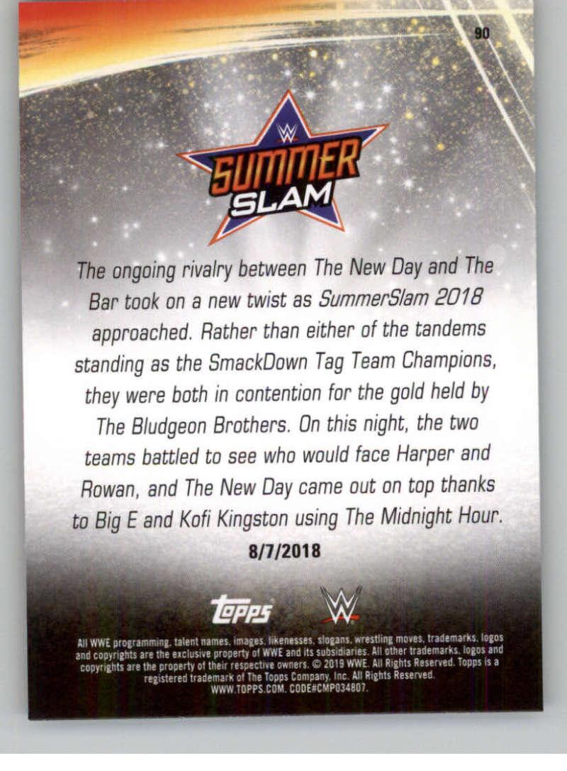 2019-WWE-Topps-SummerSlam-Parallels-Logo-Mat-Shirt-Relics-Pick-Your-Cards-Lot thumbnail 127