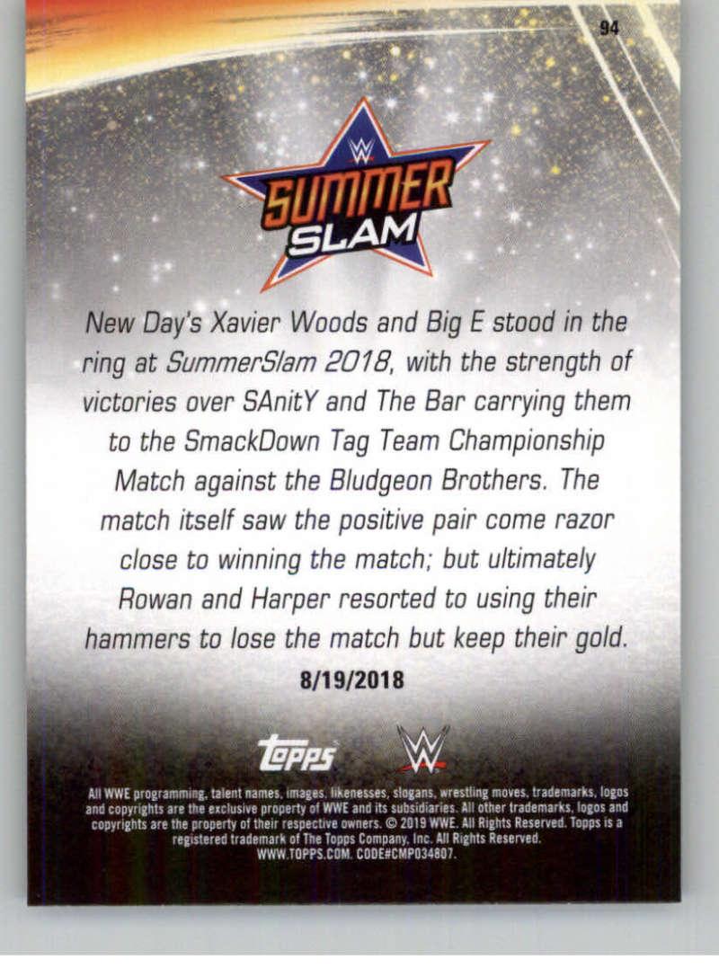 2019-WWE-Topps-SummerSlam-Parallels-Logo-Mat-Shirt-Relics-Pick-Your-Cards-Lot thumbnail 133