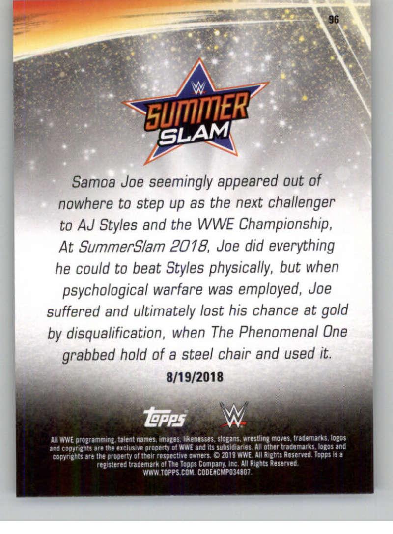 2019-WWE-Topps-SummerSlam-Parallels-Logo-Mat-Shirt-Relics-Pick-Your-Cards-Lot thumbnail 137