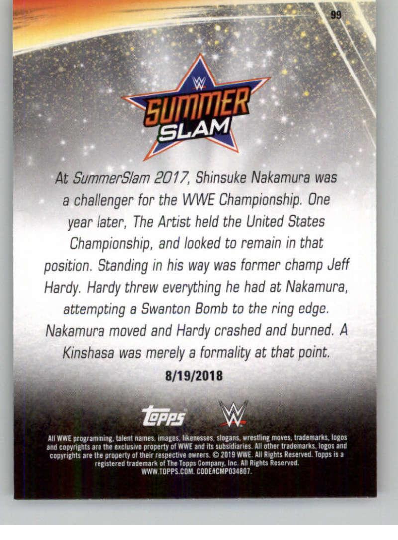 2019-WWE-Topps-SummerSlam-Parallels-Logo-Mat-Shirt-Relics-Pick-Your-Cards-Lot thumbnail 141