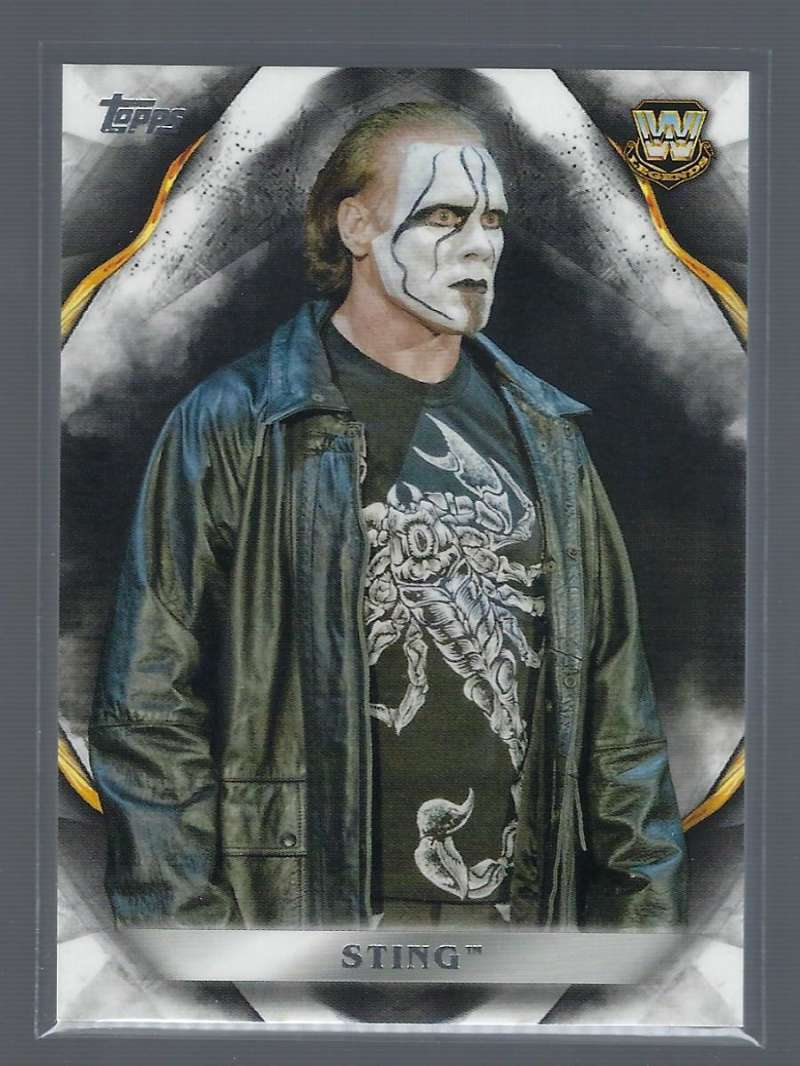 2019 Topps WWE Undisputed #89 Sting Wrestling Trading Card