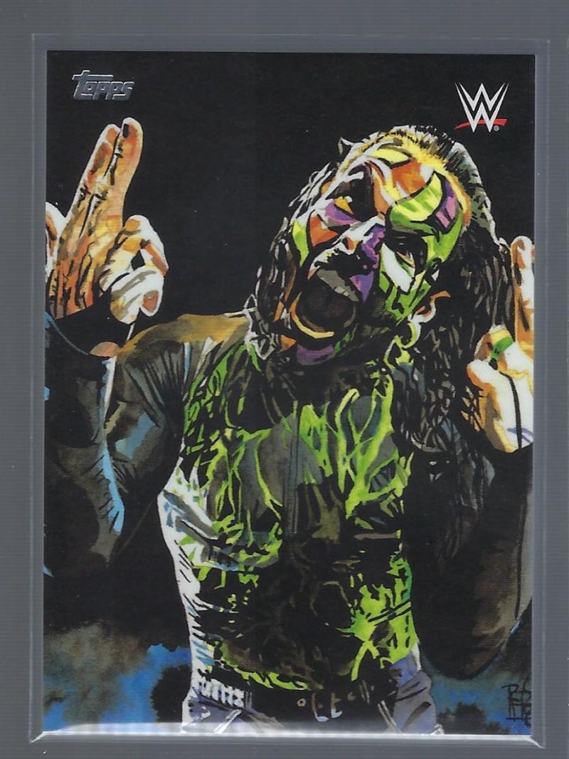 2019 Topps WWE Undisputed Rob Schamberger Portraits