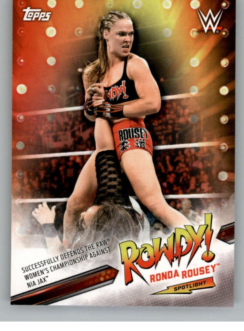 2019 Topps Smackdown Live Ronda Rousey Spotlight