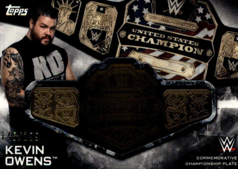 2019 Topps Smackdown Live SmackDown Championship Commemorative Relics
