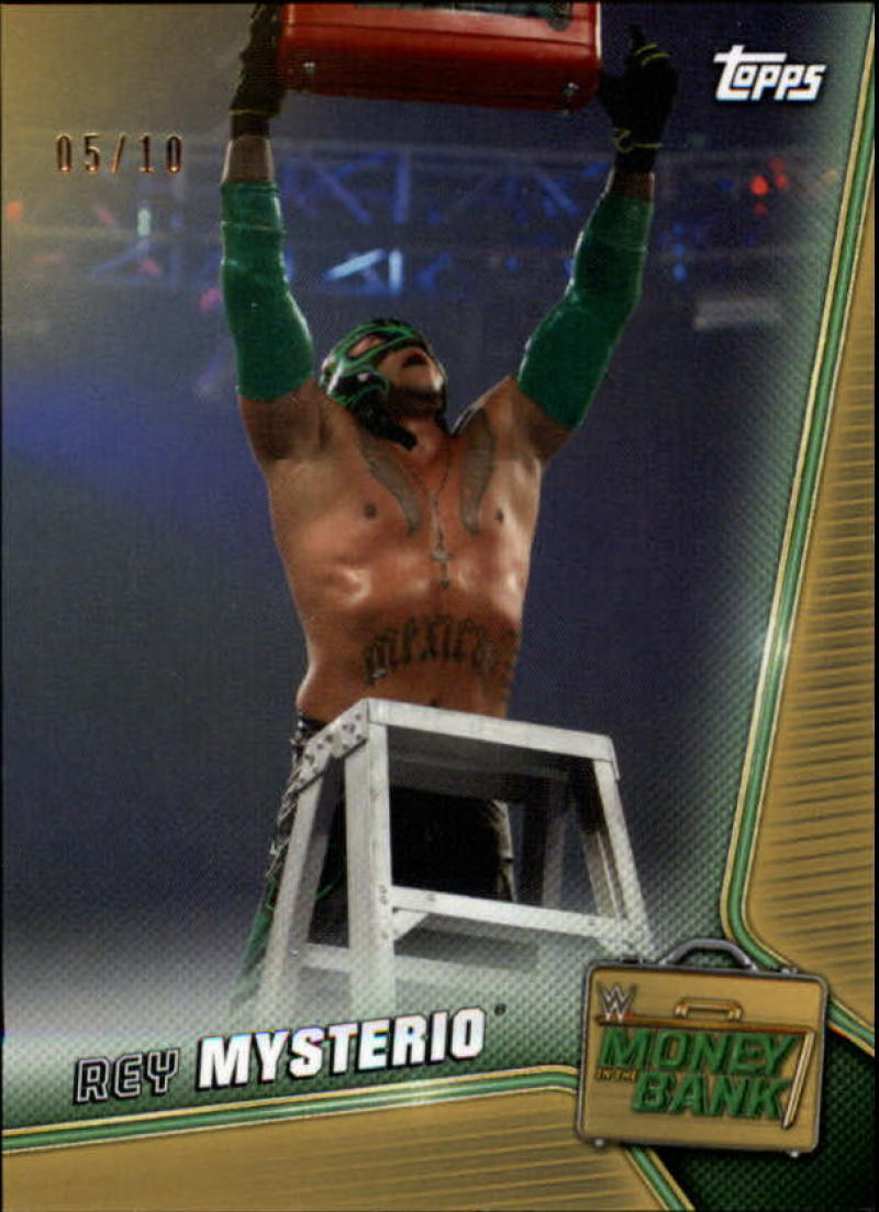 2019 Topps WWE Money in the Bank Gold
