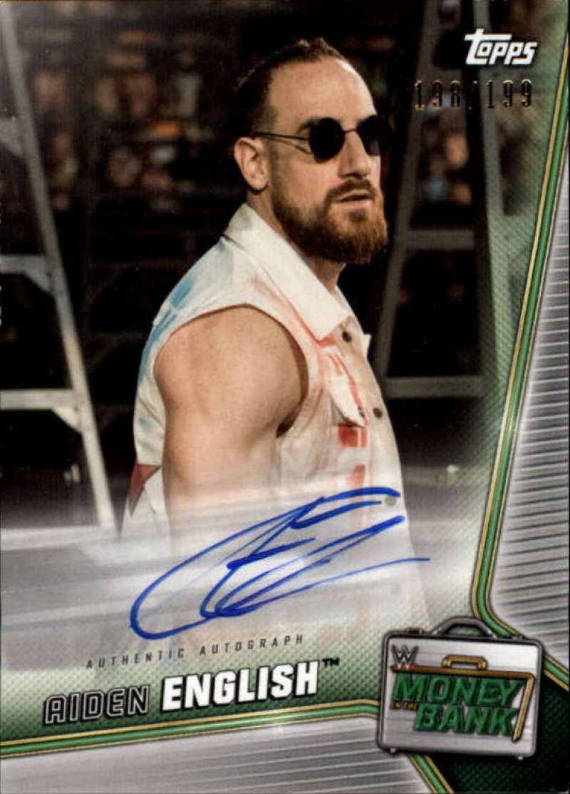 2019 Topps WWE Money in the Bank Autographs