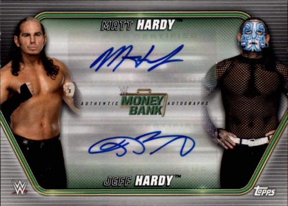 2019 Topps WWE Money in the Bank Dual Autographs