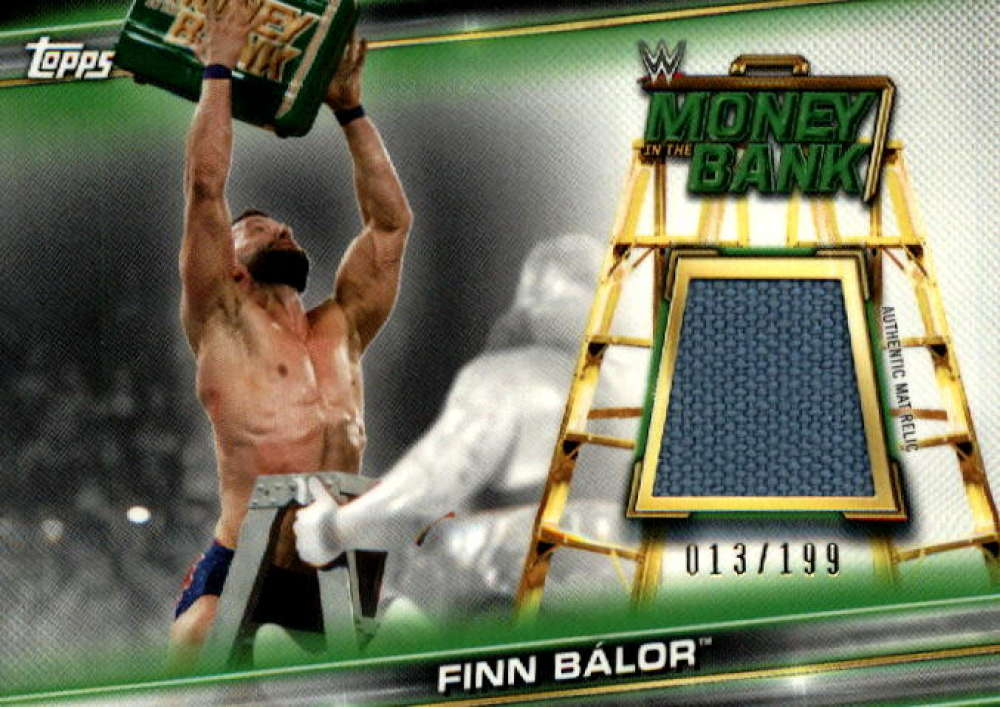 2019 Topps WWE Money in the Bank Superstar Mat Relics