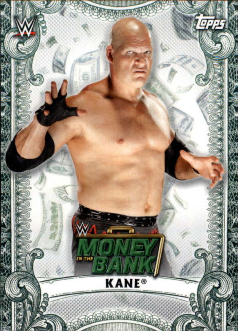 2019 Topps WWE Money in the Bank Money Cards