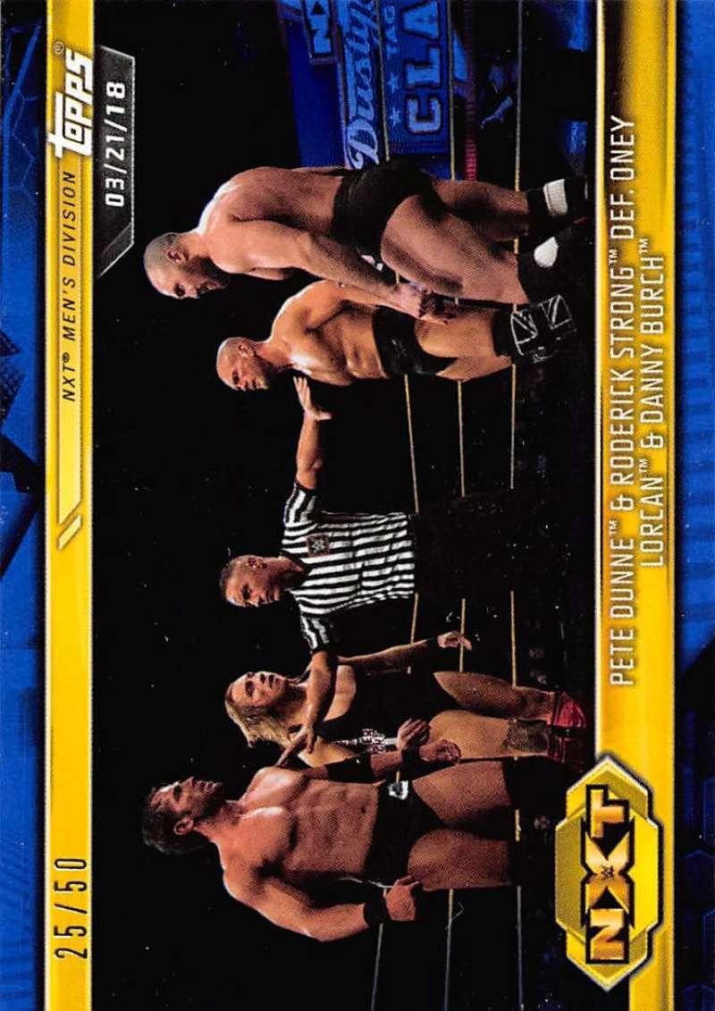 2019 Topps NXT Blue