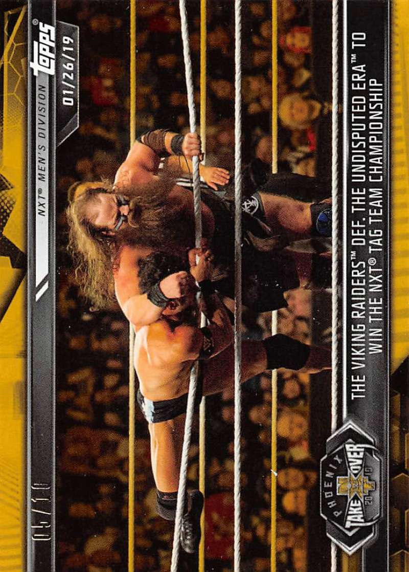 2019 Topps NXT Gold