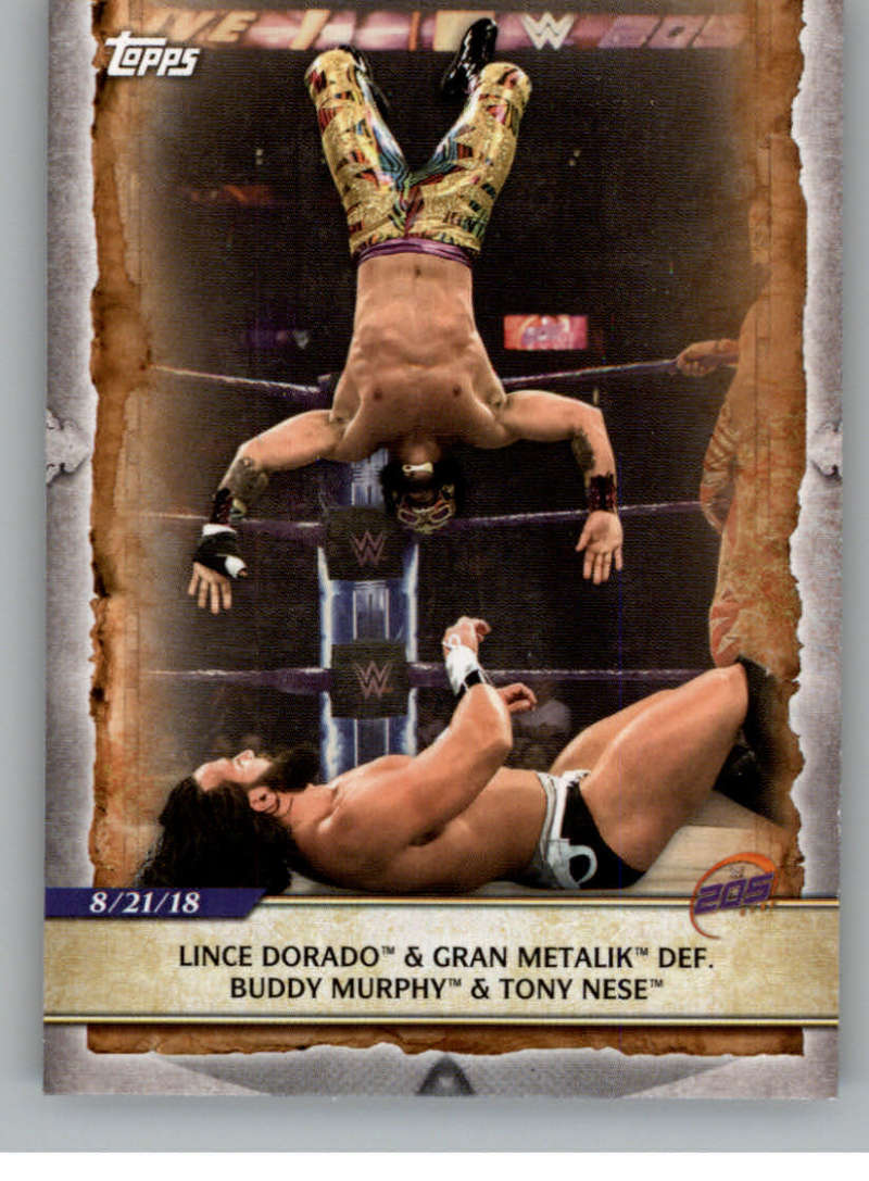 2020 Topps Road to WrestleMania