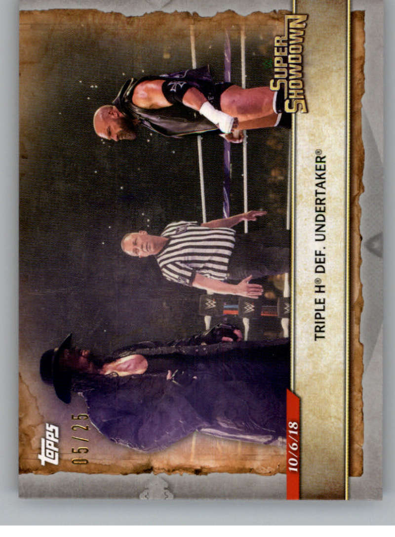 2020 Topps Road to WrestleMania Silver