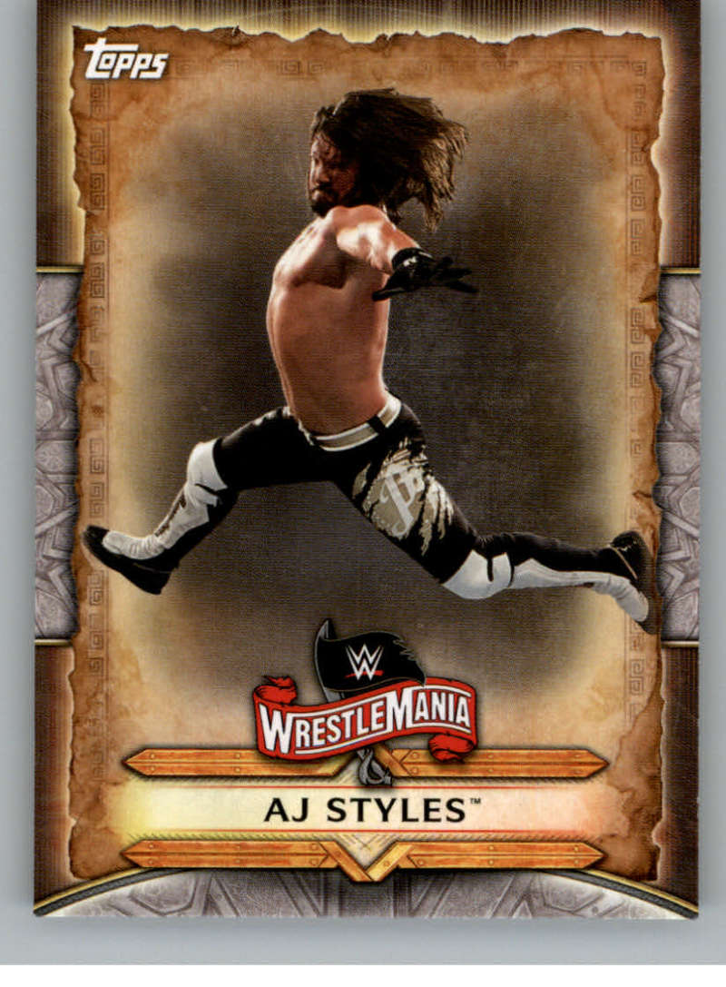 2020 Topps Road to WrestleMania WrestleMania Roster