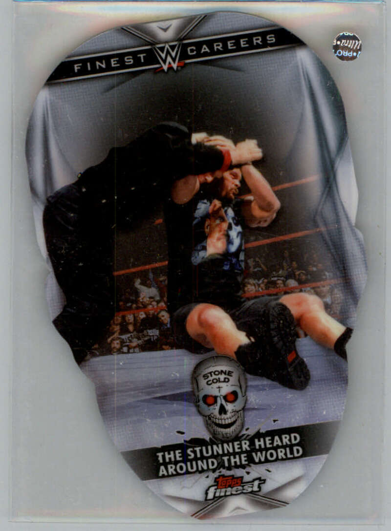 2020 Finest  Career Die-Cuts Steve Austin Refractor