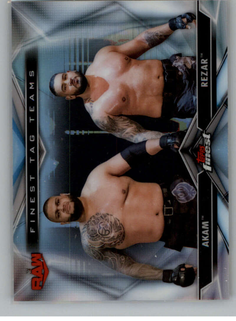 2020 Finest  Tag Teams Refractor