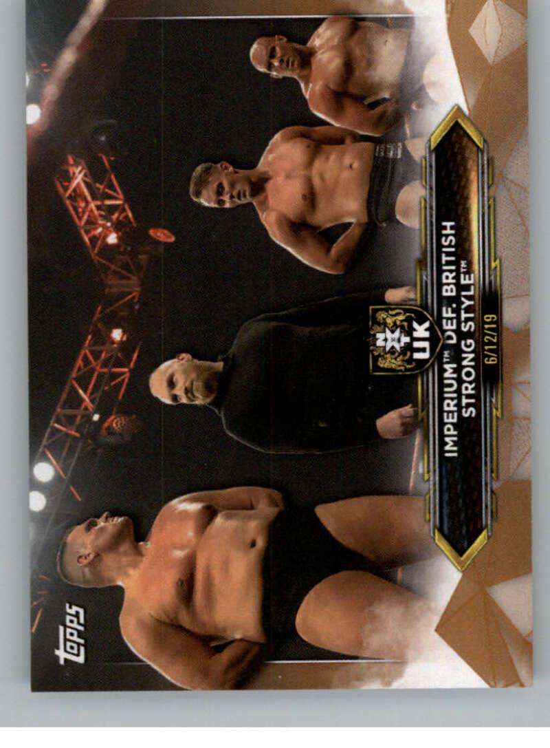 2020 Topps NXT Bronze