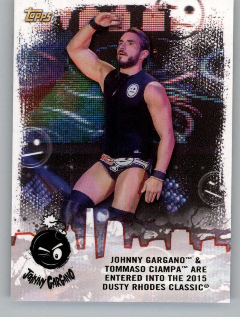2020 Topps NXT Johnny Gargano Tribute